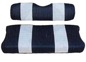Picture of 20043 SEAT CUSHION SET,NAVY/WHTE,FRONT,CC 79-99