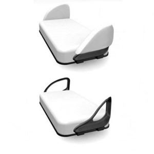 Picture of 55621 Cart Buddy Padded Sleeve White Club Car DS/XRT