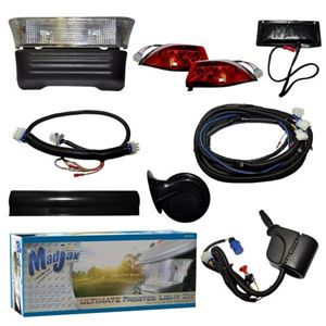 Picture of 02-021 Madjax Complete Ultimate Light Kit with Frosted Lens – Fits Club Car Precedent