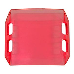 "Picture of 02-050 4"" Red Dual Row LED Light Bar Cover"