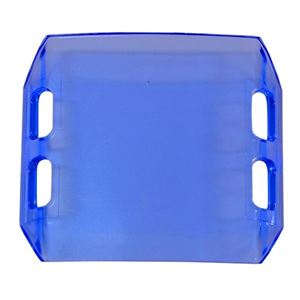 "Picture of 02-051 4"" Blue Dual Row LED Light Bar Cover"