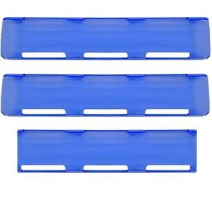 "Picture of 02-063 Blue 24"" Single Row LED Bar Cover Pack (2-Large & 1-Small)"
