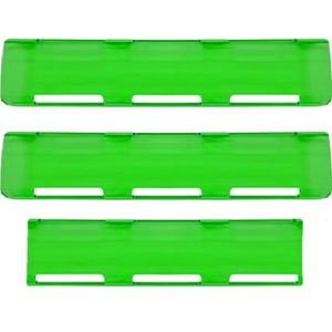 """Picture of 02-064 Green 24"""" Single Row LED Bar Cover Pack (2-Large & 1-Small)"""