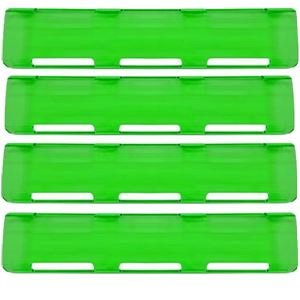"""Picture of Green 40"""" Single Row LED Bar Cover Pack (4-Large)"""