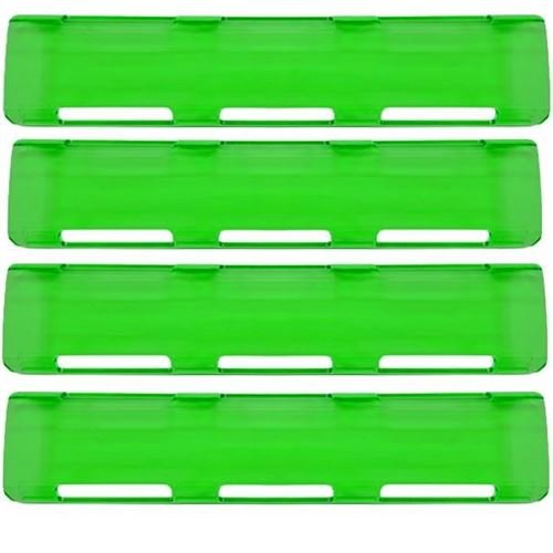 """Picture of 02-068 Green 40"""" Single Row LED Bar Cover Pack (4-Large)"""