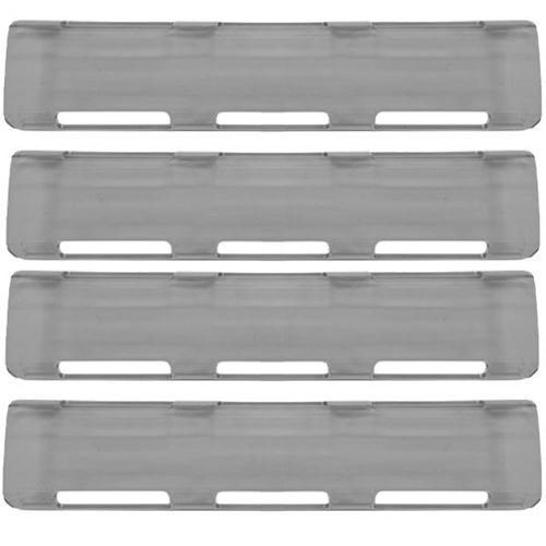 """Picture of 02-069 Smoke 40"""" Single Row LED Bar Cover Pack (4-Large)"""