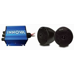 Picture of 13-013  INNOVA 2 Cone and 2-Channel Mini-Amp with Bluetooth (Universal Fit)