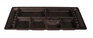 Picture of 20106 UNDERSEAT TRAY, EZGO; SMALL COMPARTMENTS