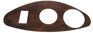 Picture of 31341 GAUGE TRIM PLATE, EZGO RXV, BURL