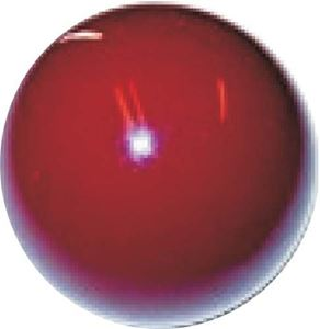 "Picture of 31401 SHIFTER KNOB (BURGUNDY) 3/8-24. 1/2"" thread"