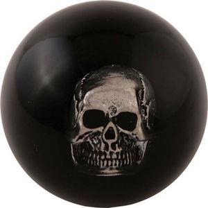Picture of 31455 Skull inside shifter knob Black (2 1/8) 3/8-24 master