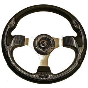 Picture of 56911 STEERING WHEEL, 12.5 QC-5156 CARBON FIBER