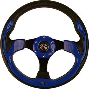 Picture of 56912 STEERING WHEEL, 12.5 QC-5156 BLUE