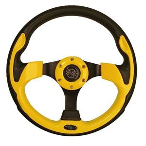 Picture of 56914 STEERING WHEEL, 12.5 QC-5156, YELLOW