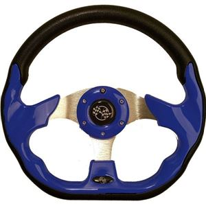 Picture of STEERING WHEEL, 12.5 QC-5156F BLUE