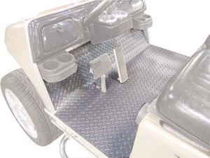 Picture of 28745 Floor Mat Cover EZGO 2001.5 &up Diamond Plate Grey