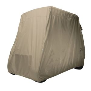 Picture of 2018 Golf Cart Storage Cover short roof two-person cars Light Khaki  (Universal Fit)