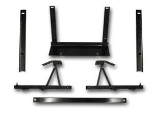 Picture of 04-007 GTW/MJFX Cargo Box Mounting Brackets for Yamaha Drive