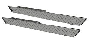 Picture of 17-166 Diamond Plate Side Skirts (Pair) for Club Car DS