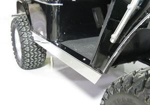 Picture of 28368 Stainless Steel Rocker Panels Med/TXT 1994-Up