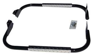 Picture of 7456 Nerf bar set (Jakes/Blk w/Dia pl step) YA 07- up G29