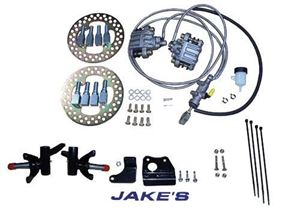 Picture of 7215 Hydraulic brakes EZ 8-94-01½ Med/TXT (Non-lifted)