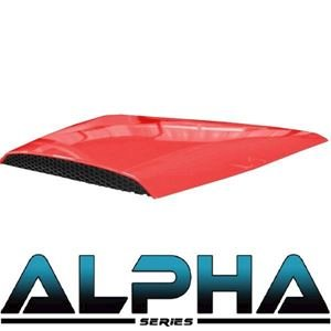Picture of 05-041 Red Alpha Series Hood Scoop for Precedent