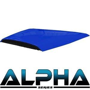 Picture of 05-042 Blue Alpha Series Hood Scoop for Precedent