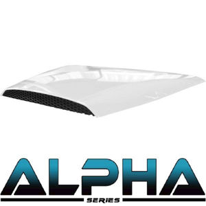Picture of Out of Stock 05-044 White Hood Scoop for ALPHA Body Kits
