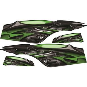 Picture of 03-042-GRN Jet Graphic Set (Green) for Club Car Precedent