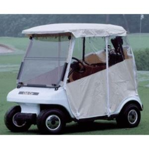 Picture of 14050 Club Car Enclosure White Vinyl Fits 2004-Up