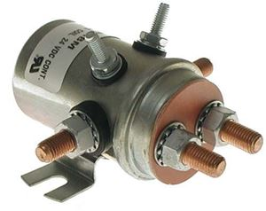 Picture of 1154 Solenoid, 24V 6P, copper