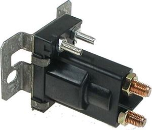 Picture of 1132 Solenoid, 12V 4P, silver