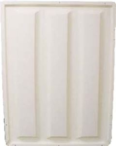 "Picture of 31020 TOP ASSEMBLY, EZ MAR 86-93, 53"" FLEET SHELL WHITE"