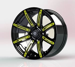 Picture of 19-069-YEL Yellow Inserts for Illusion 12x7 Wheel