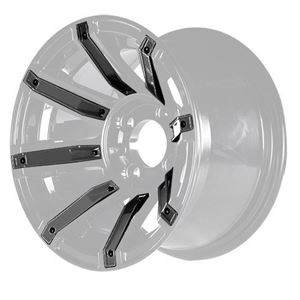 Picture of 19-082-BLK Black Inserts for Avenger 12x7 Wheel