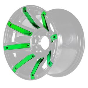 Picture of 19-082-GRN Green Inserts for Avenger 12x7 Wheel