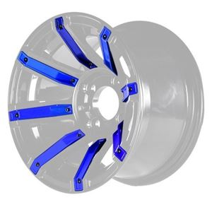 Picture of 19-083-BLU Blue Inserts for Avenger 14x7 Wheel