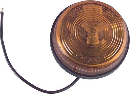 Picture of 2406 ROUND YELLOW MARKER LIGHT