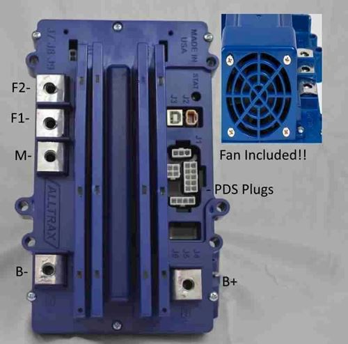 Picture of XCT-48500-PDS WITH 500 Amp Speed Controller with Fan  *Free Shipping