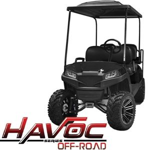 Picture of 05-048CO Yamaha G29/Drive HAVOC Off-Road Front Cowl Kit in Black (Fits 2007-2016)