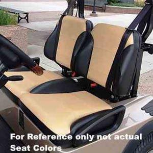 Picture of 2054 E-Z-GO RXV Tan Suite Seats (Fits 2016-Up)