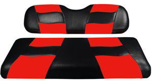 Picture of RIPTIDE FRONT SEAT COVER EZ TXT BLACK/RED