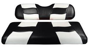 Picture of RIPTIDE FRONT SEAT COVER PRECEDENT BLACK/WHITE