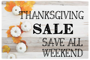 Picture for category Thanksgiving Sale