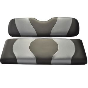 Picture of 10-103P Madjax Wave Black/Dark Gray Carbon Two-Tone Genesis 150 Rear Seat Cushions