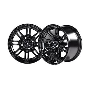 Picture of 19-071 Mirage 10x7 Black Wheel with Center Cap