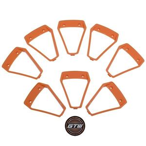 Picture of 19-099-ORG Orange Inserts for GTW Nemesis 14x7 Wheel