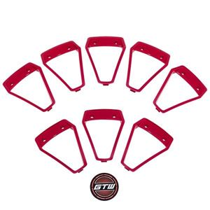 Picture of 19-099-RED Red Inserts for GTW Nemesis 14x7 Wheel