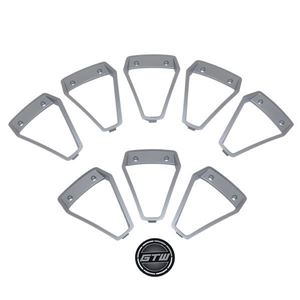 Picture of 19-099-SIL Silver Inserts for GTW Nemesis 14x7 Wheel
